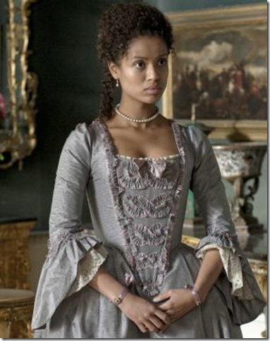 Gugu Mbatha-Raw as Dido Elizabeth Belle, in