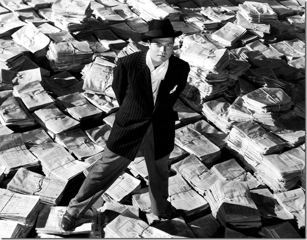 "Orson Welles in ""Citizen Kane."" (1941)"
