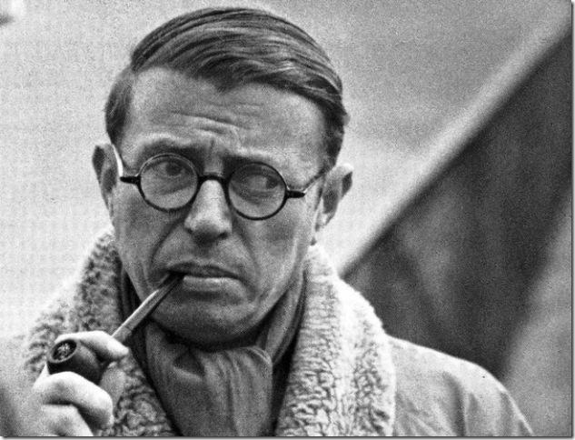 Jean-Paul Sartre (1905-1980).