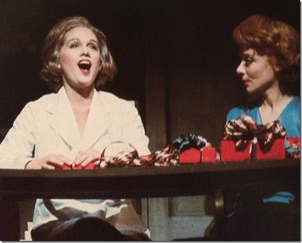 "Barbara Cook and Barbara Baxley in ""She Loves Me."" (1963)"