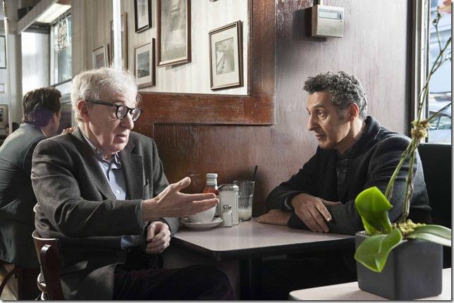 """Woody Allen and John Turturro in """"Fading Gigolo."""""""