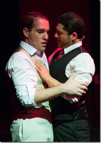"""Mike Westrich and Conor Walton in """"Thrill Me."""""""