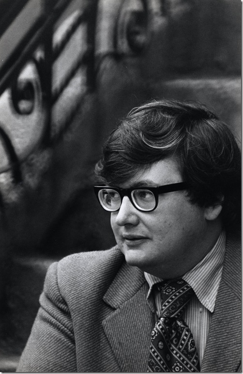 Roger Ebert. (Photo by Art Shay, courtesy Magnolia Pictures)