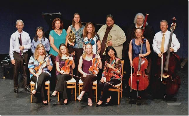 Members of the Palm Beach Chamber Music Festival. (Photo by Rocky Helderman)