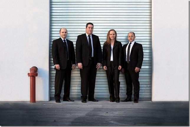 The Amernet String Quartet.