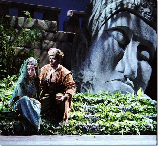 "Christina Bouras and Jonathan Boyd in Sarasota Opera's 2013 production of ""The Pearl Fishers,"" which will be coming to Florida Grand Opera this season."