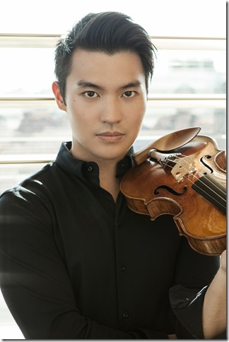 Ray Chen. (Photo by Julian Hargreaves)