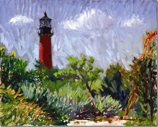 Jupiter Lighthouse (2014), by Brennan King.