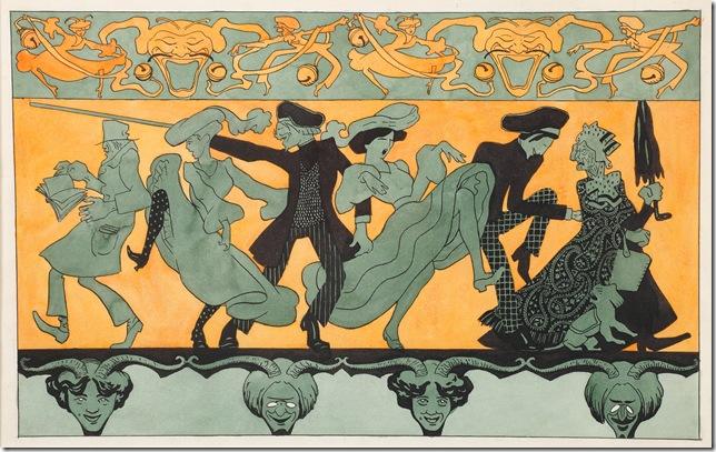 La Comédie (1900), by August Jean-Baptiste Roubille.