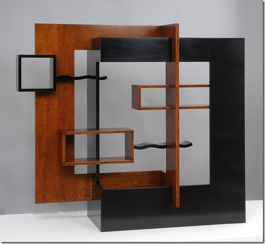 Screen Shelves (2012), by Yoko Zeltserman-Miyaji.