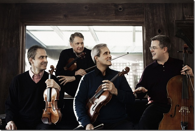 The Emerson String Quartet. (Photo by Lisa-Marie Mazzucco)