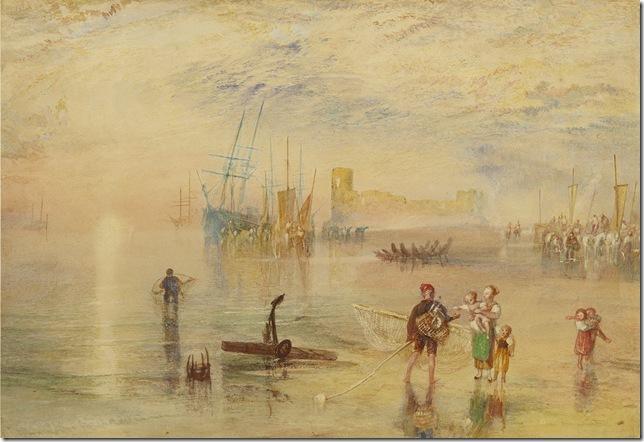 Flint Castle (1835), by J.M.W. Turner.