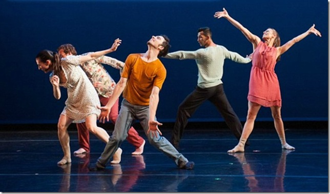 Dancers from BodyTraffic.