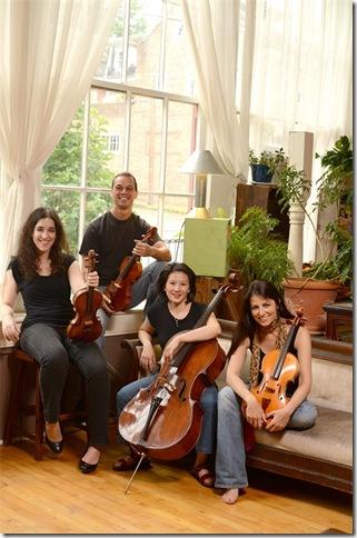 The Carpe Diem String Quartet.