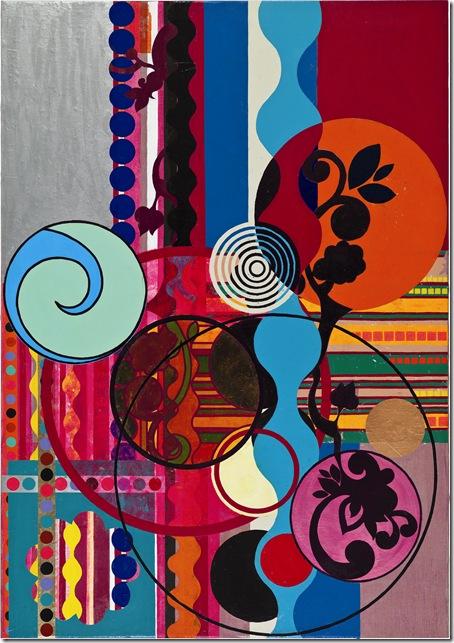 """Feijoada"" (2010), by Beatriz Milhazes."