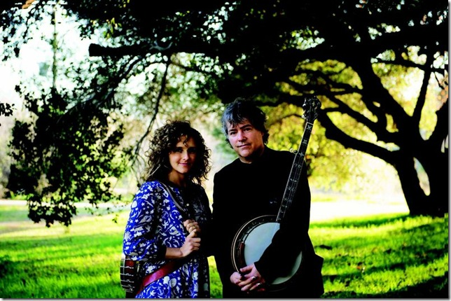 Abigail Washburn and Bela Fleck.