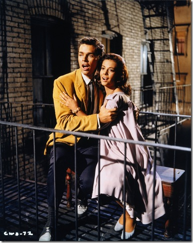 Richard Beymer and Natalie Wood in