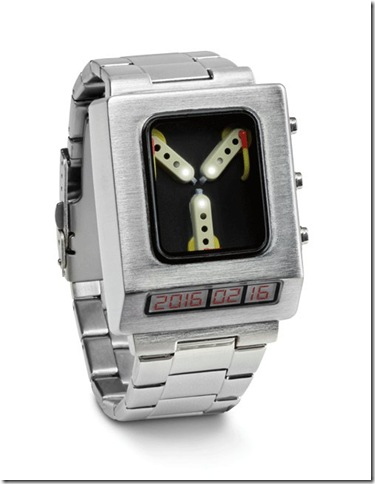 The Flux Capacitor Wristwratch.