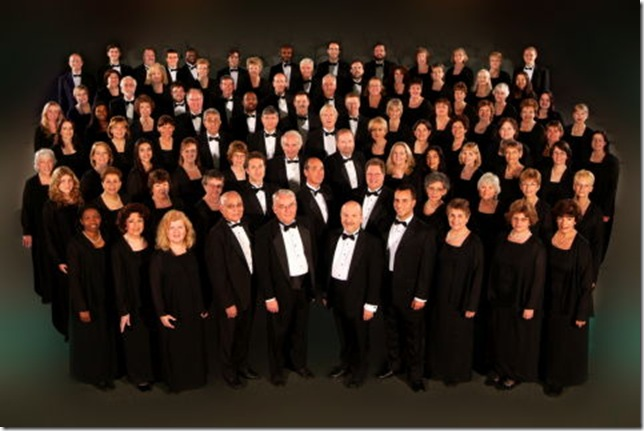 The Master Chorale of South Florida. (Photo by Wade Caldwell)