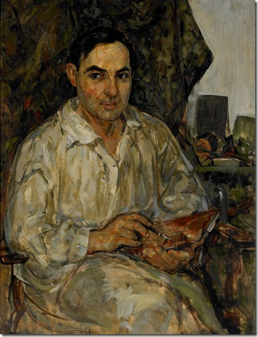"""Portrait of William"" (1923), by Theresa Bernstein"