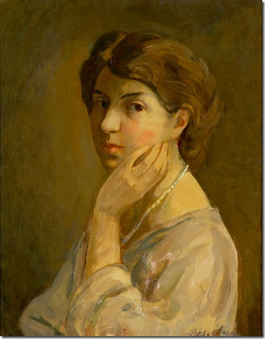 """Self-Portrait"" (1914), by Theresa Bernstein."