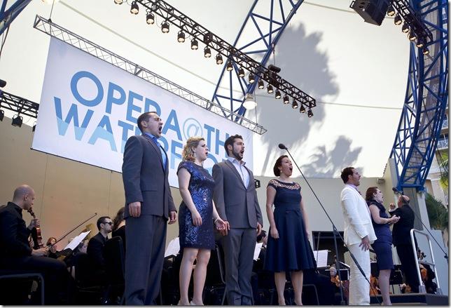 From left: Nicholas Nestorak, Liana Guberman, Jason Duika, JoAna Rusche, James Valenti and Bridgette Gan.