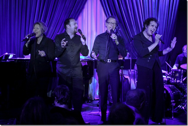 The Manhattan Transfer, with Trist Curless (second from left) replacing founder Tim Hauser, who died in October.