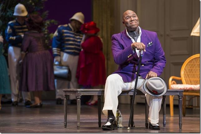 """Arthur Woodley in """"Così fan Tutte."""" (Photo by Rod Millington)"""