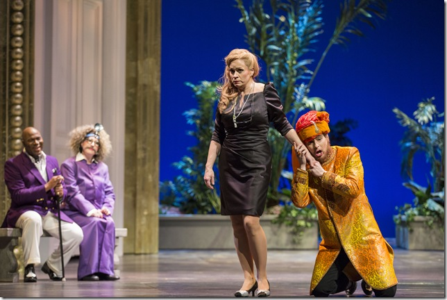 "Arthur Woodley, Ava Pine, Sari Gruber and Jason Slayden in ""Così fan Tutte."" (Photo by Rod Millington)"