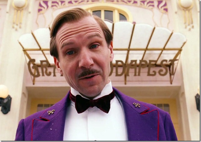 "Ralph Fiennes in ""The Grand Budapest Hotel."""