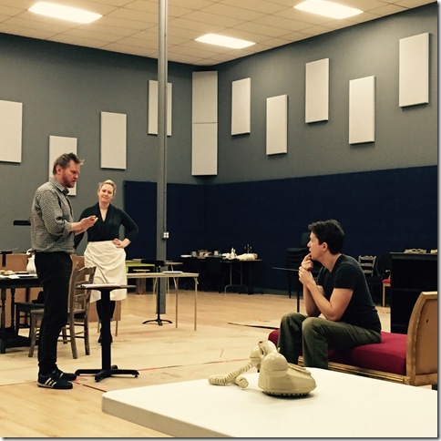 'Enemies, A Love Story,' in rehearsal.