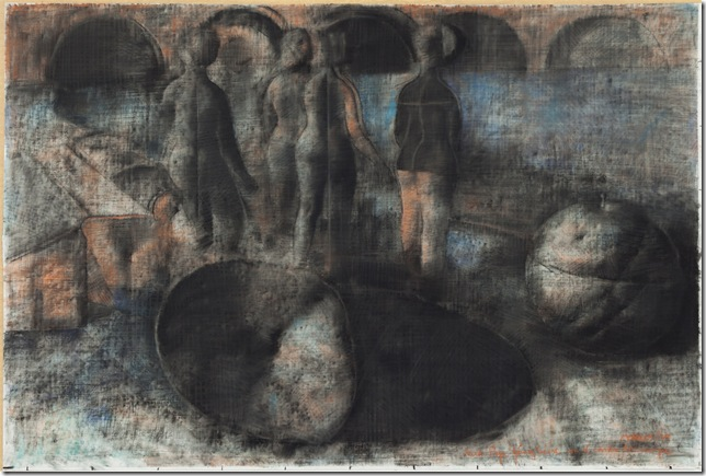 Mujeres (1979), by Armando Morales.