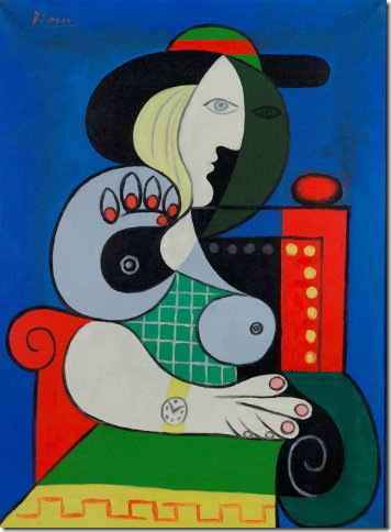 Woman With Wrist Watch (1932), by Pablo Picasso.