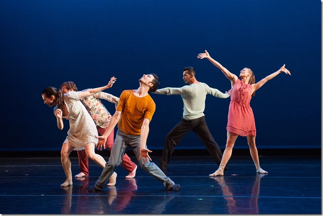 "A scene from ""o2Joy,"" by Richard Siegal. (Photo by Christopher Duggan)"
