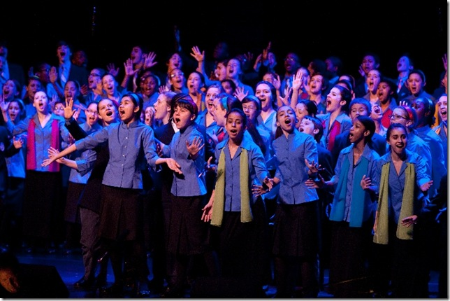 The Young People's Chorus of New York City.