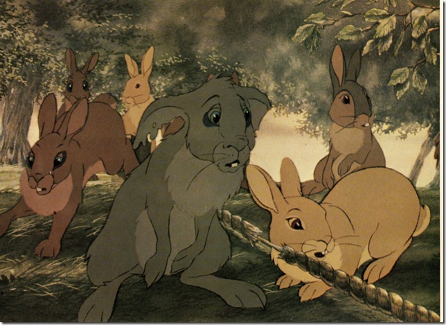 "A scene from ""Watership Down."" (1978)"