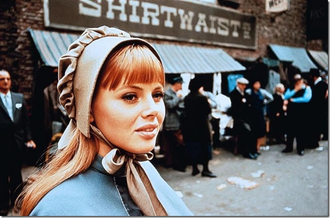 "Britt Ekland in ""The Night They Raided Minsky's."" (1968)"
