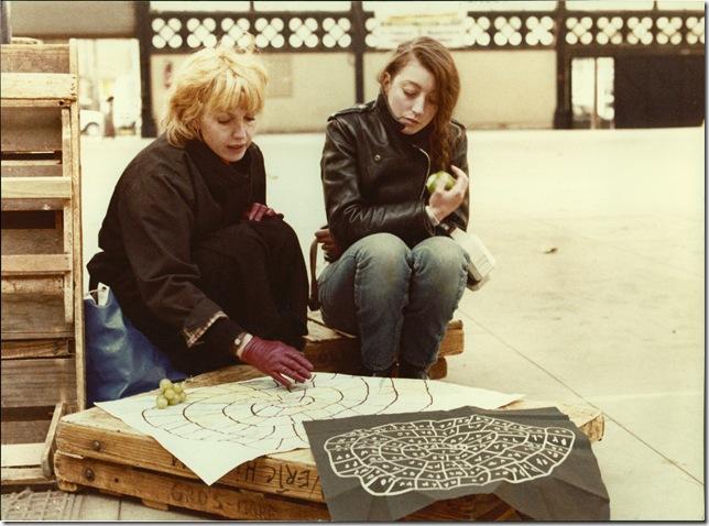 "Bulle Ogier and Pascale Ogier in ""Le Pont du Nord."" (1981)"