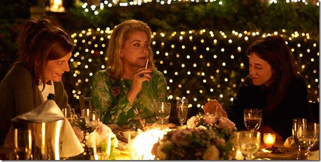 "Chiara Mastroianni, Catherine Deneuve and Charlotte Gainsbourg in ""Three Hearts."""