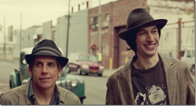 "Ben Stiller and Adam Driver in ""While We're Young."""
