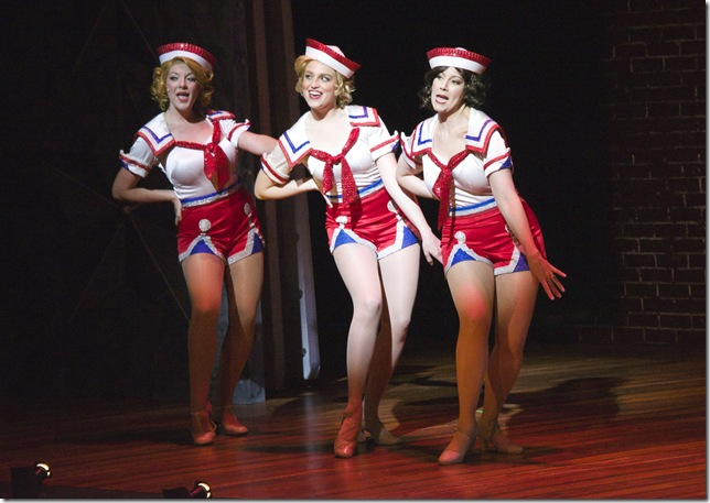 "Lindsey Bethea, Alison McCartan and Laura Hodos in ""Dames at Sea."" (Photo by Amy Pasquantonio)"