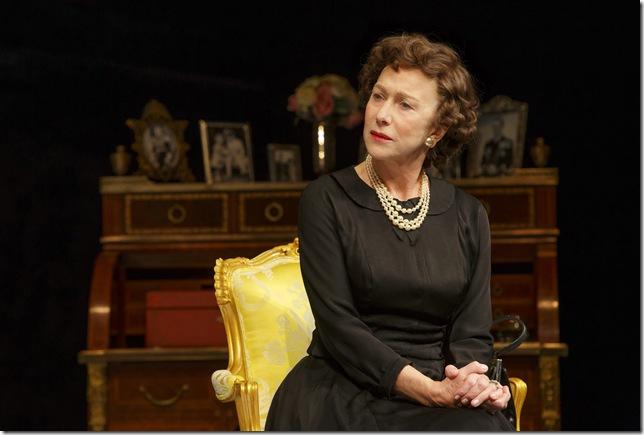 "Helen Mirren as Queen Elizabeth II in ""The Audience."" (Photo by Joan Marcus)"