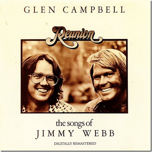 "Jimmy Webb and Glen Campbell, in ""Reunion."" (1974)"