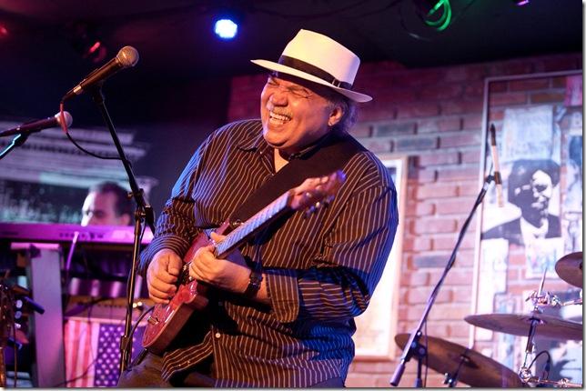 Galo Rivera of the Santana Tribute Band.