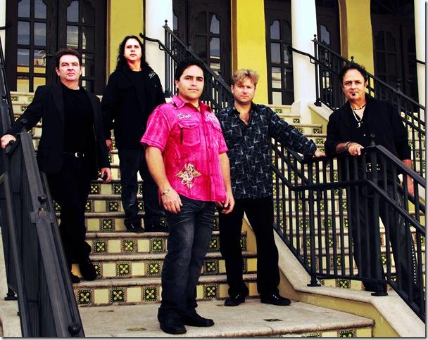 "Odyssey Road, from left: Mike Soper, Bobby Gugliuzza, James ""Bubba"" Sanderford, Brian Lutz and Paul Granato."