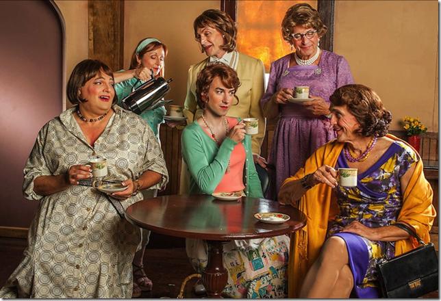 "The cast of ""Casa Valentina."" (Photo by George Schiavone)"