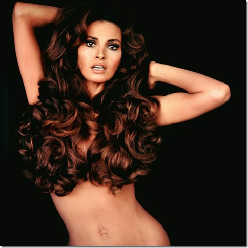 """Raquel Welch — Hair"" (1970), by Terry O'Neill, at Nicole Henry Fine Art."