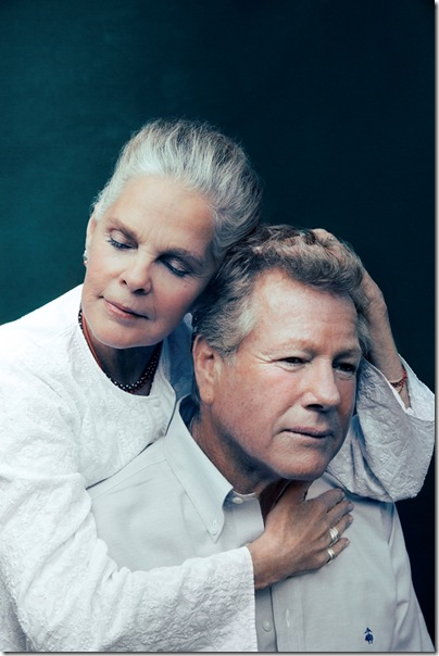 Ali MacGraw and Ryan O'Neal. (Photo by Austin Hargrave)