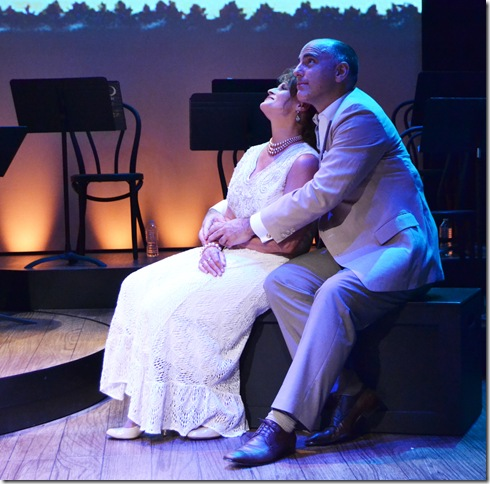 """Kim Cozort Kay and William Michals in """"A Little Night Music."""" (Photo by Geoffrey Churchill)"""