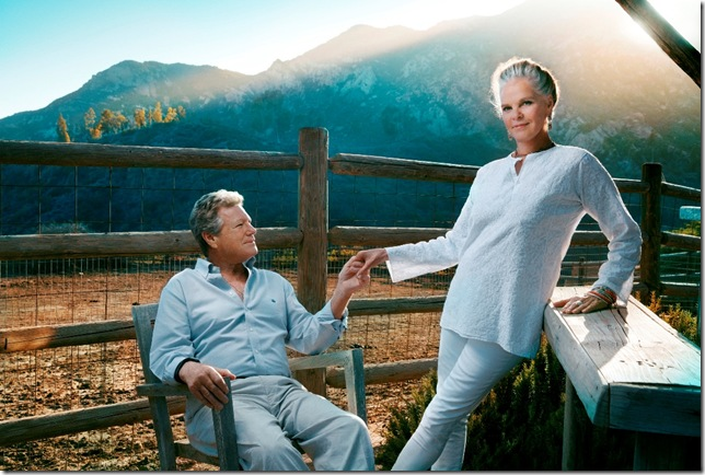 Ryan O'Neal and Ali MacGraw. (Photo by Austin Hargrave